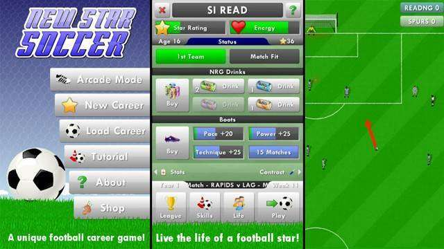 New Star Soccer MOD android