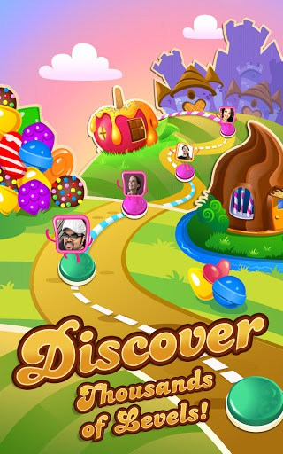 Candy Crush Saga MOD screenshots 10
