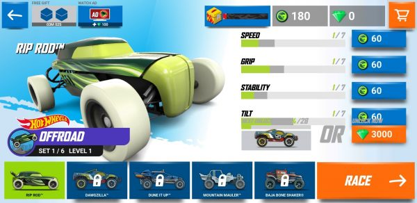 game Hot Wheels Race Off mod