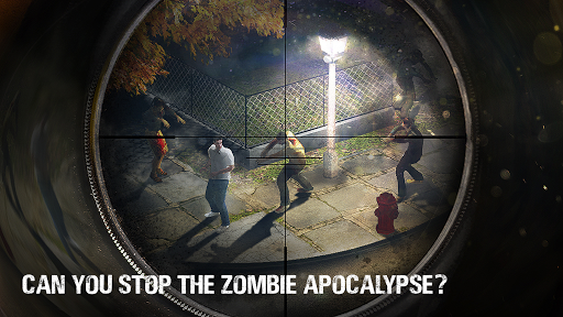 Zombie Hunter Sniper Last Apocalypse Shooter MOD screenshots 2